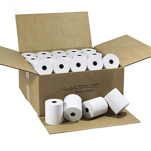 BPA free printed thermal paper rolls 80mm
